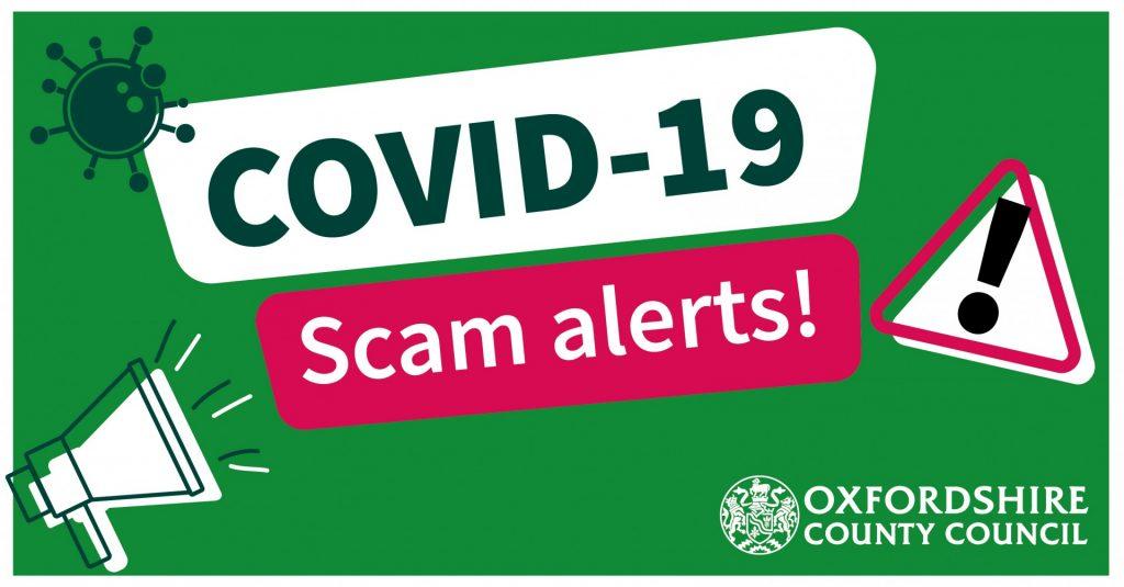 Covvid -19 scam alert image