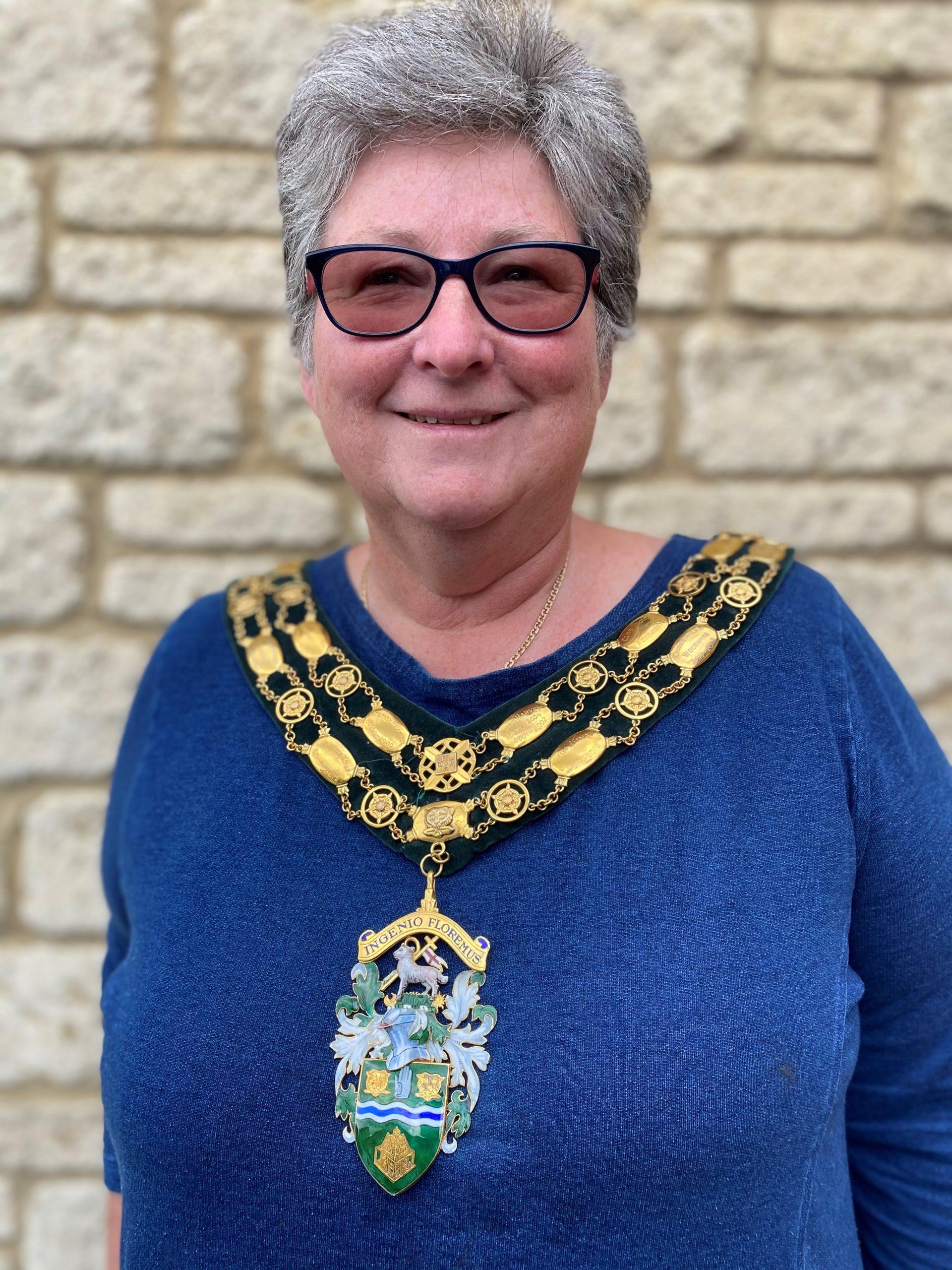 Mayor Councillor Joy Aitman
